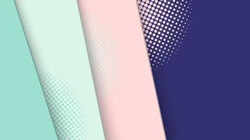 sfondo astratto moderno grafico futuristico mezzitoni. disegno astratto di texture di sfondo vettoriale. poster mezzitoni luminoso. banner mezzitoni sfondo illustrazione vettoriale