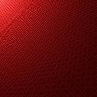 astratto sfondo sfumato rosso con trama modello quadrato prospettiva diagonale. vettore