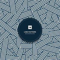 Reticolo geometrico blu reticolo a strisce astratto con linee di sfondo e texture, stile moderno. vettore