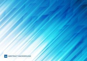linee astratte moderne strisce diagonali, sfondo bianco e blu. vettore