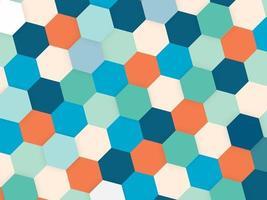 sfondo colorato astratto con copyspace con forme vettore