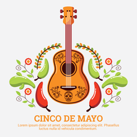 Illustrazione di Cinco De Mayo vettore