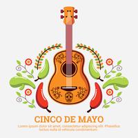 Illustrazione di Cinco De Mayo vettore