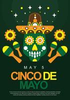display per poster di cinco de mayo