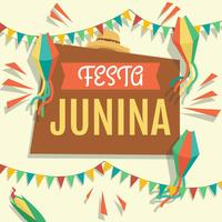 vettore dell'illustrazione di festa junina