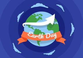 Vettori di Earth Day pacificamente