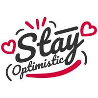 rimanere tipografia ottimista