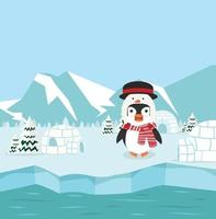 pinguini nel polo nord