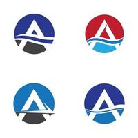 lettera a immagini del logo