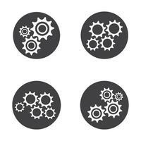immagini del logo dell'ingranaggio