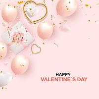 sfondo di San Valentino con i cuori