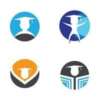 progettazione del logo di educazione