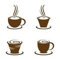 immagini del logo della tazza di caffè