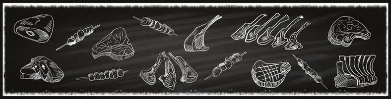 macelleria di manzo di tacchino vintage, macelleria,