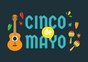 Decorazione Cinco De Mayo vettore