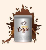design della confezione del caffè
