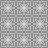 astratto senza cuciture esagonale punto arabo stella forme pattern. motivo geometrico astratto per vari scopi di progettazione. vettore