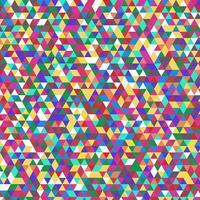 Modello triangolare astratto