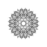 mandala decorativo design sfondo isolato