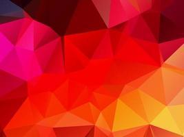 fondo astratto del poligono del triangolo geometrico decorativo vettore