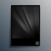 design pattern mezzetinte per flyer, poster, copertina di brochure, sfondo, carta da parati, tipografia o altri prodotti di stampa. illustrazione vettoriale