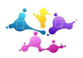 concetto di scommesse online. banner online di scommesse sportive vettoriali. a causa di forme liquide. design fluido dinamico per logo, volantini o presentazioni. vettore