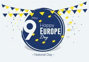 Giorno di Europa Vector