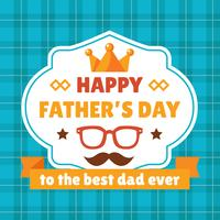 Distintivi Happy Father's Day