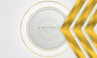 vettore di sfondo argento linea moderna astratta oro. elegante concept design vettoriale. modello di disegno vettoriale per uso cornice, copertina, banner, carta