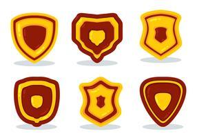 icone a forma di shiled