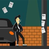 Illustrazione di ingrassare vettore