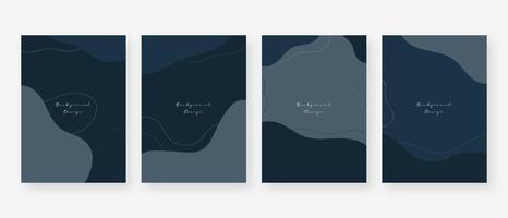 sfondo di concetto minimo. sfondi astratti di memphis con copia spazio per il testo. illustrazione vettoriale. vettore