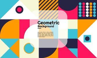 motivo di sfondo geometrico astratto vettore