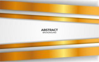 design di lusso sfondo bianco e oro vettore