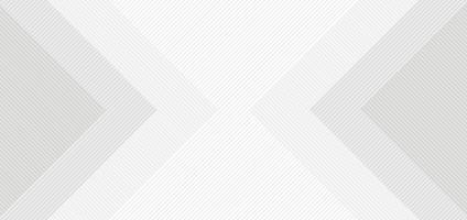 sfondo astratto quadrato bianco e grigio con motivo a linee vettore