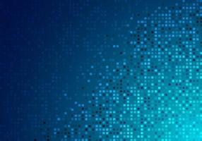 tecnologia astratta digitale futuristico concetto blu pixel incandescente sfondo e texture. vettore