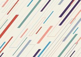 linee tratteggiate geometriche astratte modello diagonale su sfondo bianco. vettore
