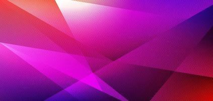 colore vibrante di forma geometrica astratta a basso poligono con sfondo luminoso e texture vettore