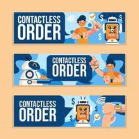 tecnologia contactless di ordine vettore