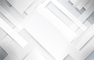 carta da parati bianca geometrica astratta vettore