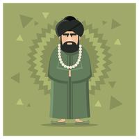 Personaggio Guru maschile