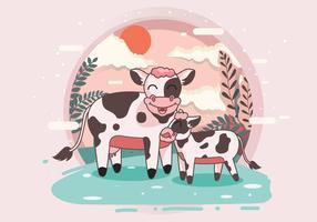 Vettore di bestiame
