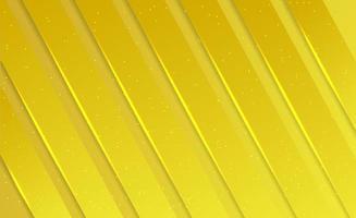 astratto minimalista di lusso giallo moderno vettore