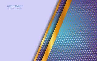 sfondo astratto blu e oro design vettore