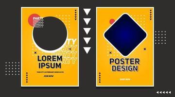 modello di vettore di progettazione di sfondo astratto banner moderno
