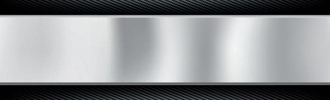 astratto metallo e fibra di carbonio texture di sfondo - illustrazione vettoriale