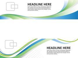 modello di brochure su illustrazione grafica vettoriale