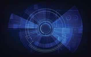 sfondo tecnologia digitale astratta vettore