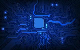 circuito del computer. background tecnologico astratto. vettore