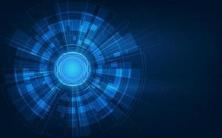 circuito futuristico astratto, concetto di tecnologia digitale del computer ad alta illustrazione, sfondo vettoriale. vettore
